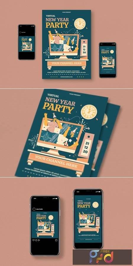 Virtual New Year Party SB86AZJ 1
