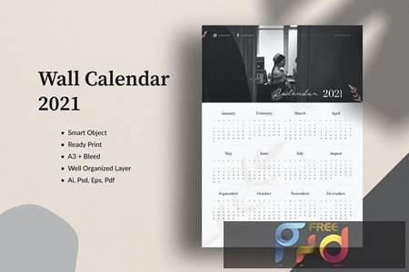 Wall Calendar 2021 8ZL5HSW 1