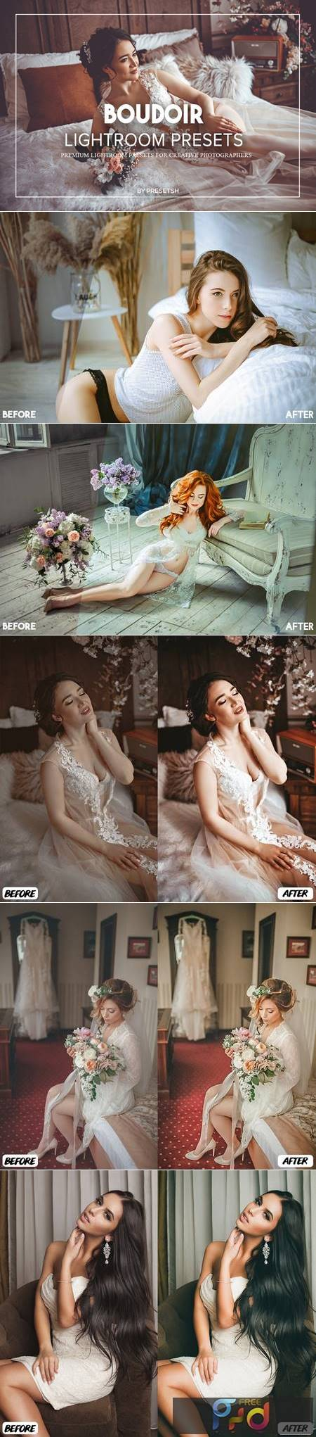 Boudoir Lightroom Presets 8HZ33GK 1