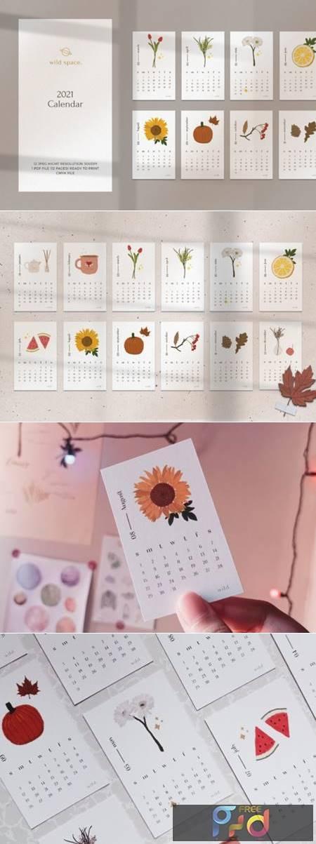 2021 Illustration Calendar Printable 6673465 1