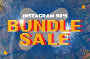 Bundle 90s Instagram Templates 6672896 12