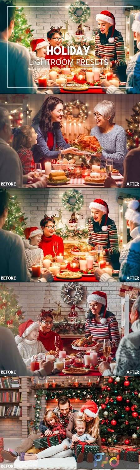 Holiday Lightroom Presets L5FXLTL 1