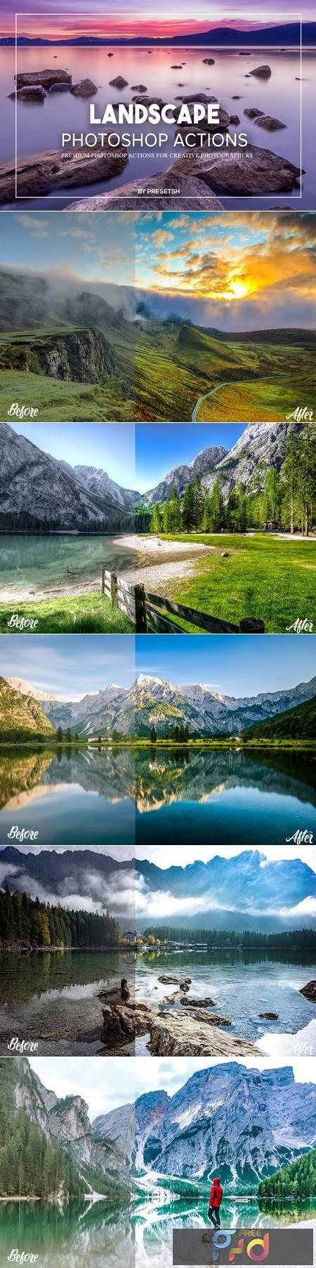 Landscape Photoshop Actions GJ4UVBM 1