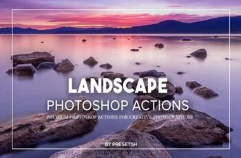 Landscape Photoshop Actions GJ4UVBM 4