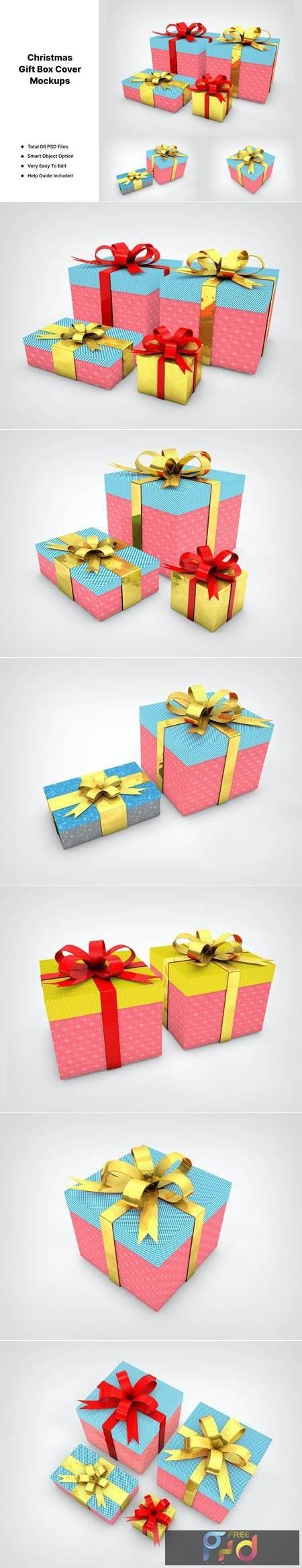Christmas Gift Box Mockups JYZKVHU 1