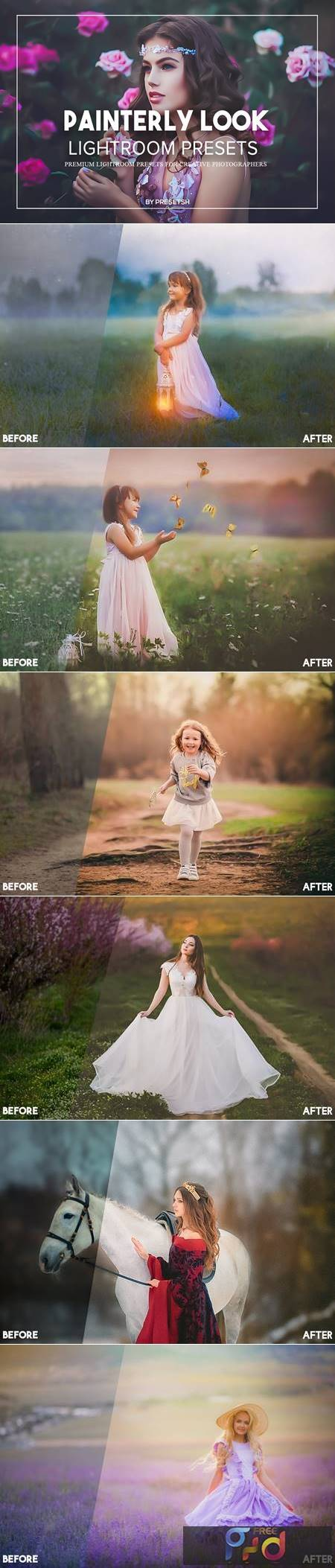 Painterly Lightroom Presets LJFX2R3 1