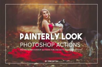 Painterly Photoshop Actions XQKWPLD 5