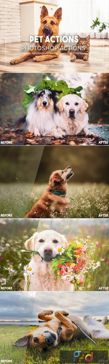 Pets Photoshop Actions 935DSLD 1
