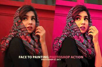 Portrait to Painting Action Set JK9PARL 5