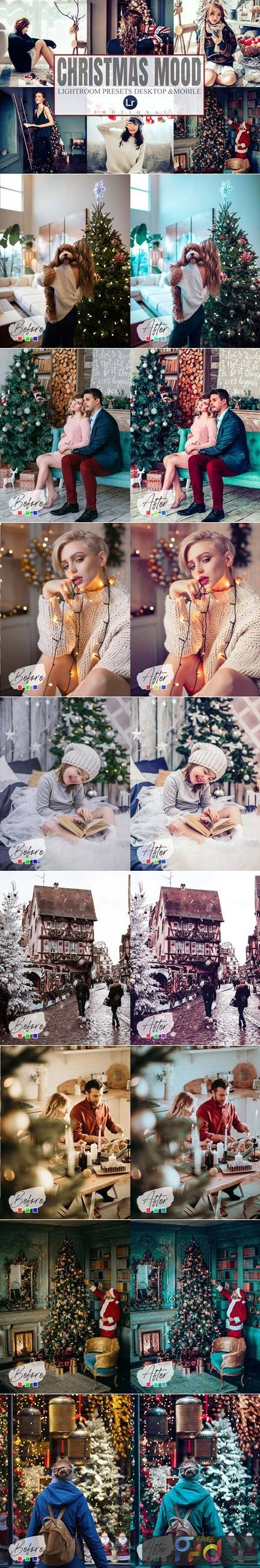 15 Christmas Lightroom Presets 5581592 1