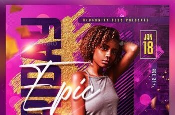 Night Club Flyer 28920753 16