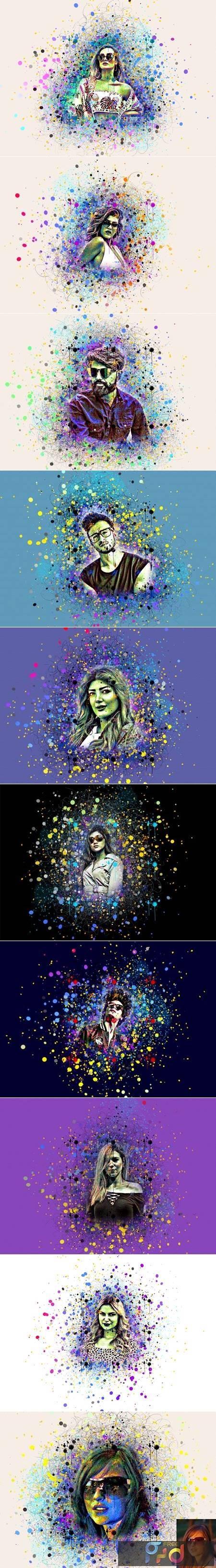 Color Splash Photoshop Action 5390030 1