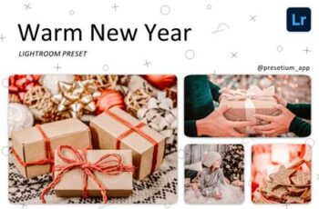 Warm New Year - Lightroom Presets 5219602 5