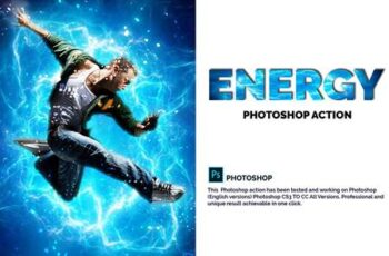 Energy Photoshop Action 4809089 4
