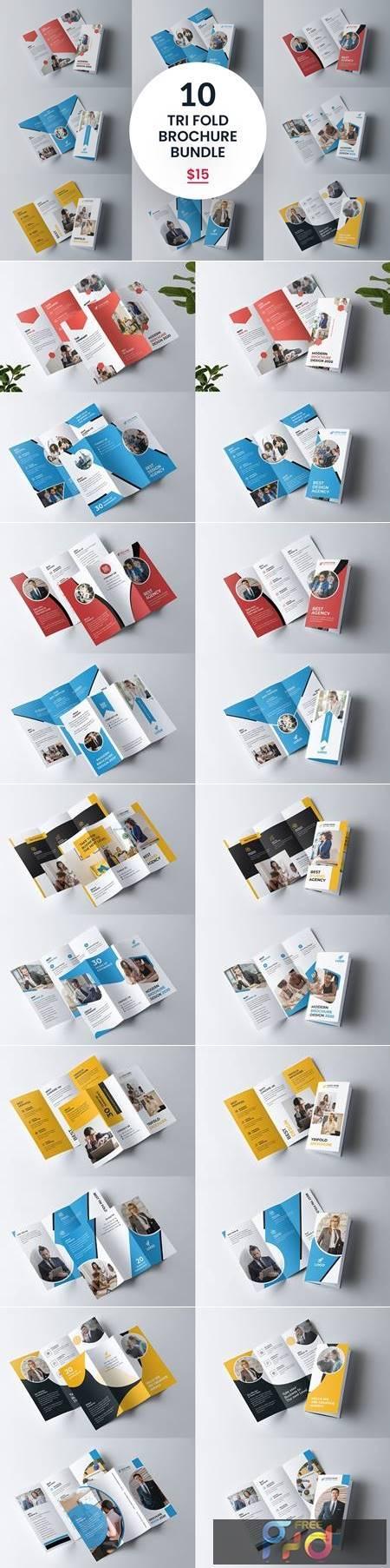 Tri fold Brochure Bundle 5487795 1