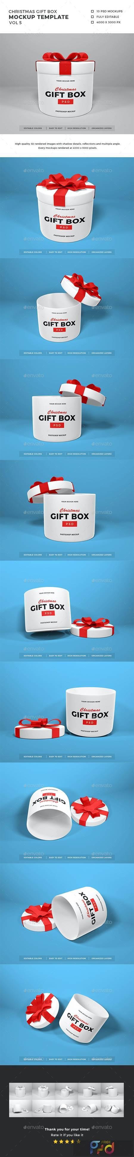 Christmas Gift Box Mockup Vol 5 29453741 1