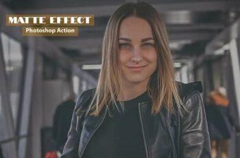 Matte Effect Photoshop Action 4882235 4