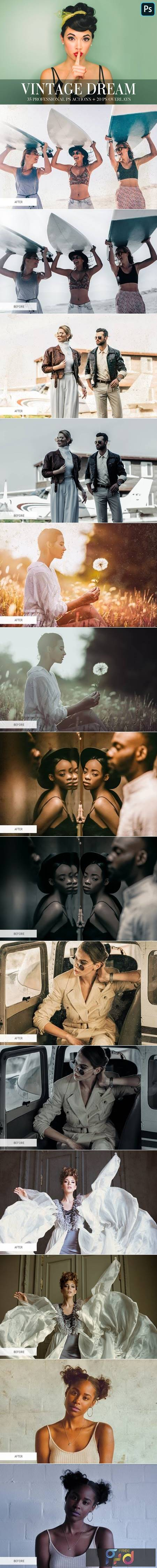 Photoshop Actions - Vintage Dream 4844982 1