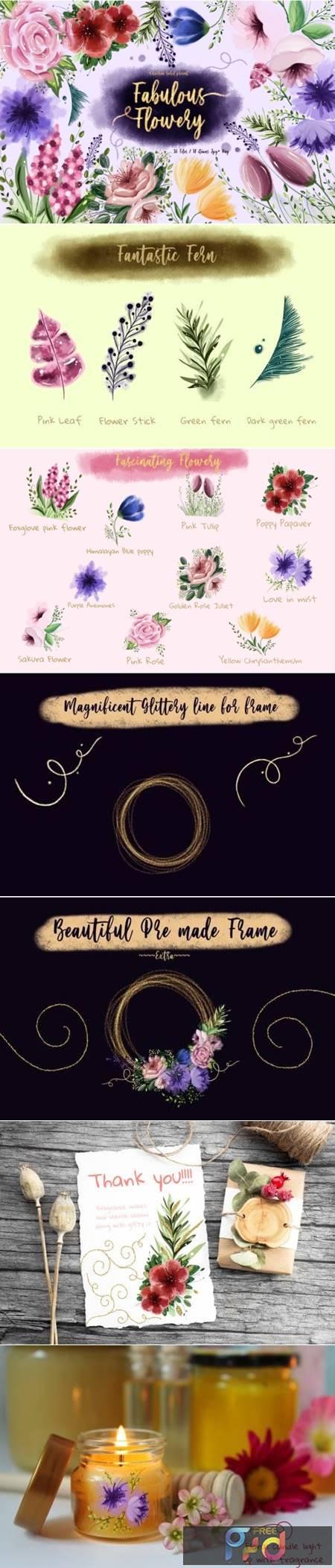 Fabulous Flowery 6764437 1