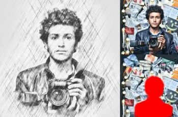 Pro Sketch Photoshop Action 28848536 2