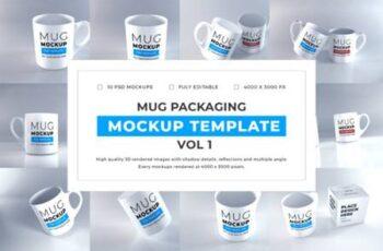 Realistic Mug Mockup Bundle Vol 1 6725680 2