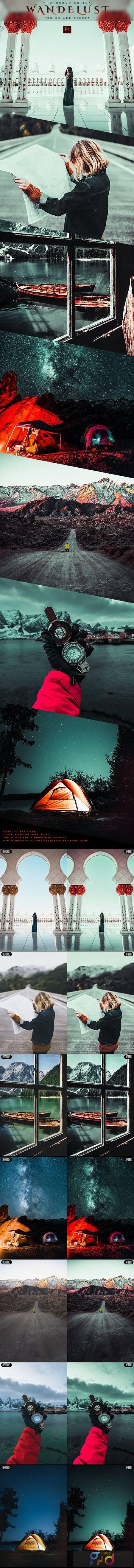 Wanderlust - Photoshop Action 28854054 1