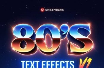 80s Text Effects V1 29259774 7