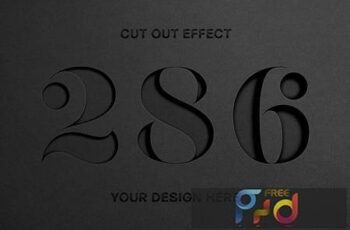 Cut Out Paper Text Effect 5648621 6