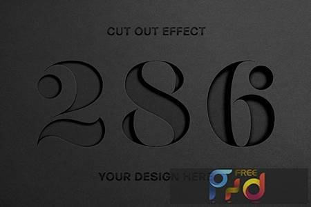 Cut Out Paper Text Effect 5648621 1