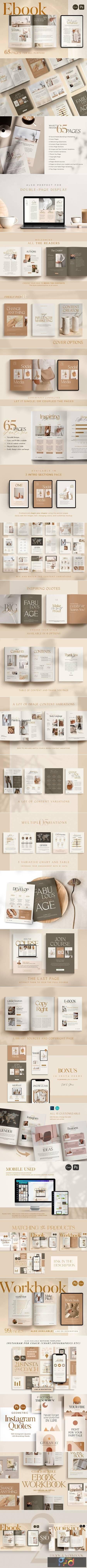 EBook Template Creator - CANVA PS 5163018 1