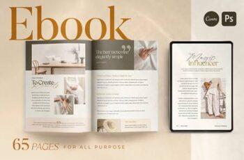 EBook Template Creator - CANVA PS 5163018 3