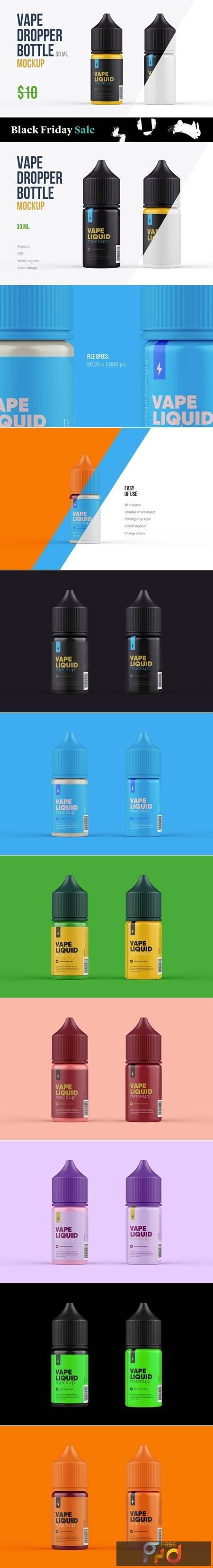 Vape Dropper Bottle Mockup 30ml 5639405 1