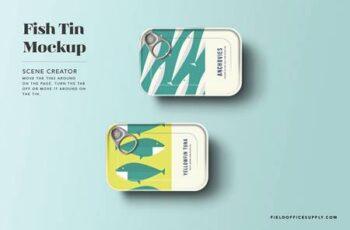 Sardine Tin Mockup 4890080 5