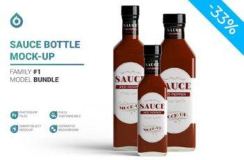 Sauce Bottle Mockup 4844082 7