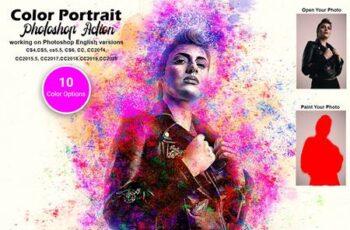 Color Portrait Photoshop Action 5621771 13