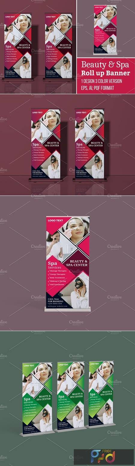 Beauty and Spa Roll-up Banner 5635667 1