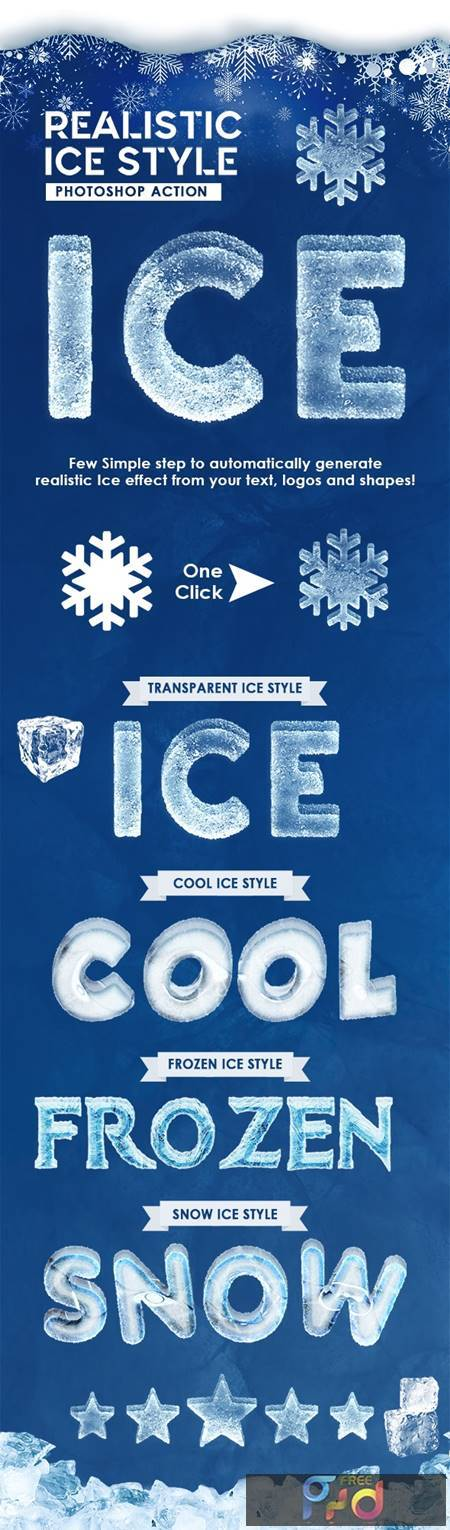 Realistic Ice Style - Photoshop Actions 29313503 1