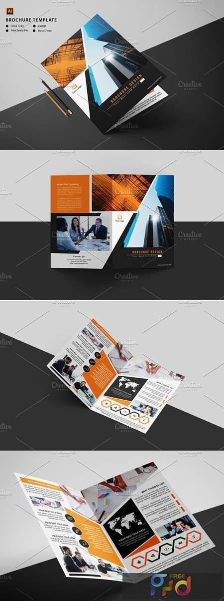 Corporate Bifold Brochure V1009 4572724 1