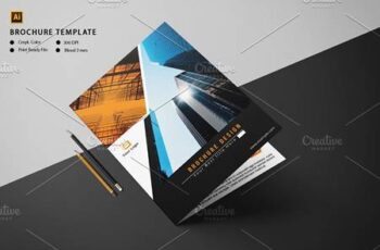 Corporate Bifold Brochure V1009 4572724 4
