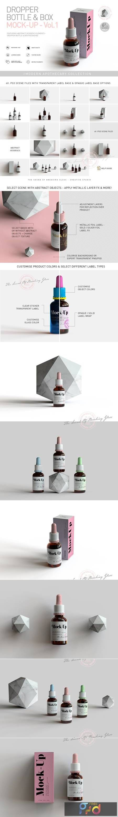 Dropper Bottle & Box Mock-Up - Vol.1 5295550 1