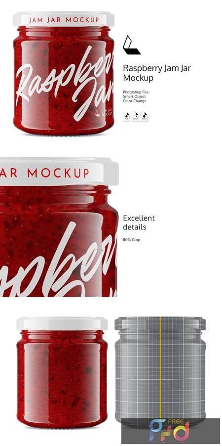 Raspberry Jam Jar #6 Mockup 4892600 1