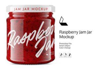 Raspberry Jam Jar #6 Mockup 4892600 4