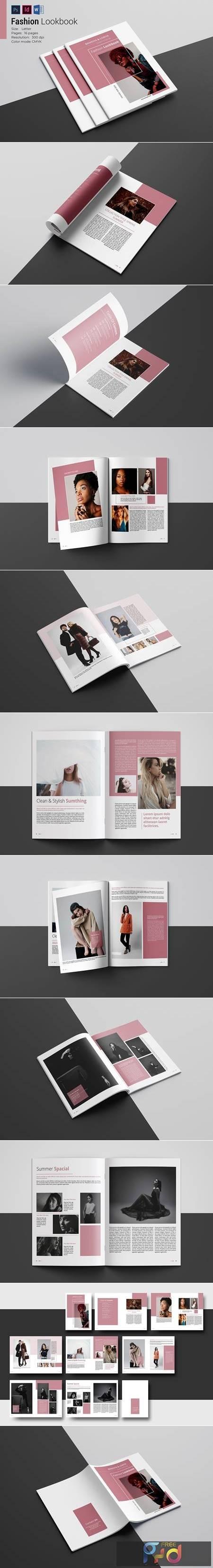 Fashion Lookbook Template 4877779 1