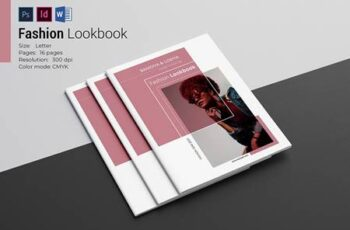 Fashion Lookbook Template 4877779 7