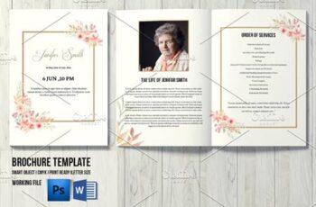 Funeral Program Template - V1001 4536035 2