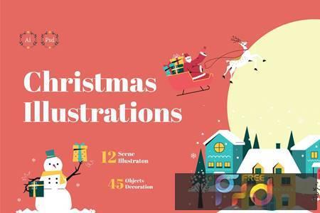 Christmas Illustration 96STYRG 1