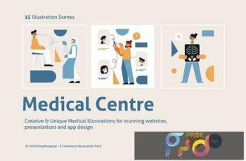 Medical Graphic Illustration 7YXK9DP 5