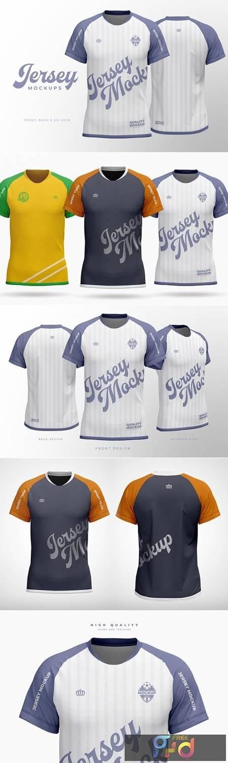 Sport Jersey Shirt Mockup VZRTQQ5 1