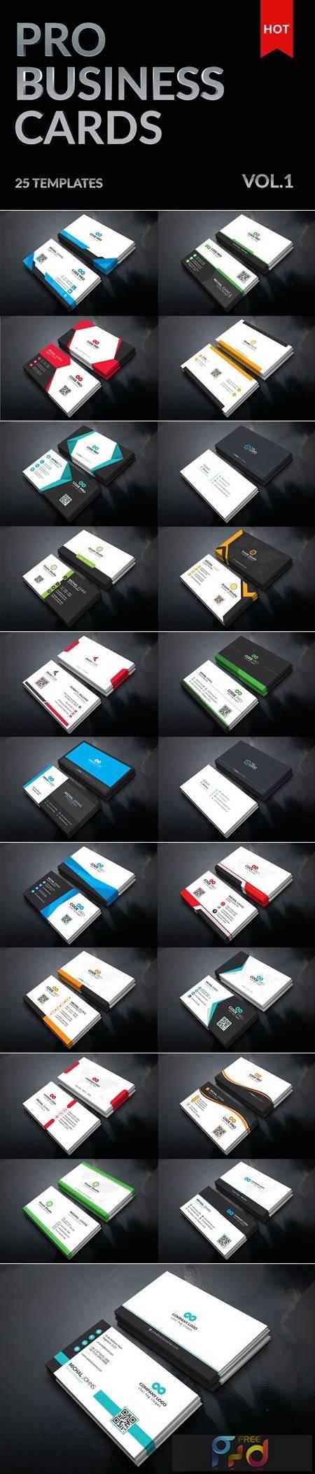 25 Mega Business Cards Bundle 5477202 1