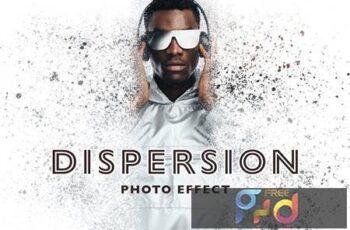Dispersion Photo Effect 436Y4QA 3